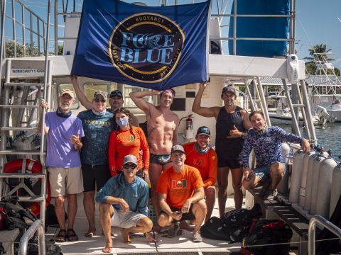 100 Yards of Hope Team Outplants 1100 Corals