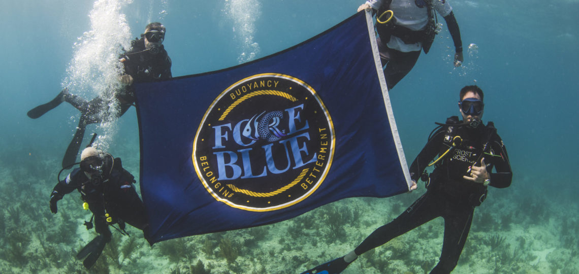 FORCE BLUE Named One of the Best Scuba Diving Organizations for Veterans