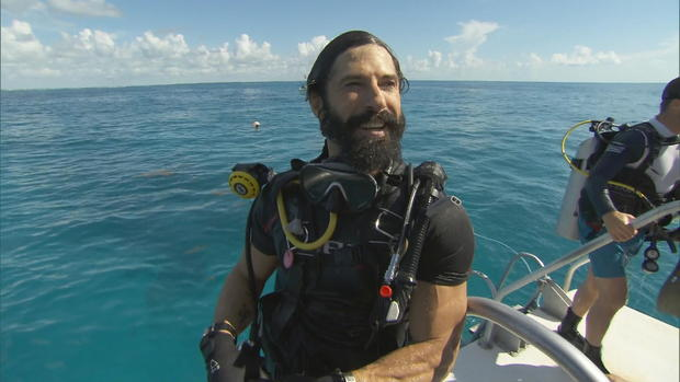 Veterans on a new mission to save the coral reef damaged by hurricanes