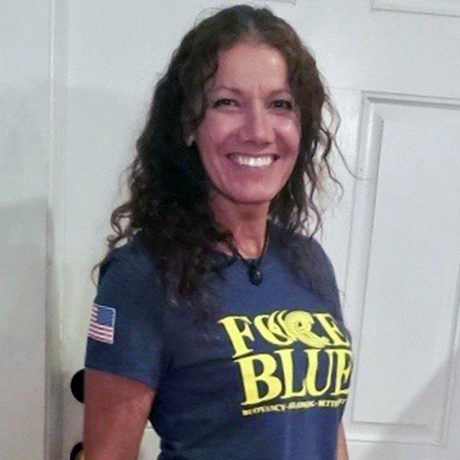 FORCE BLUE Team t-shirt